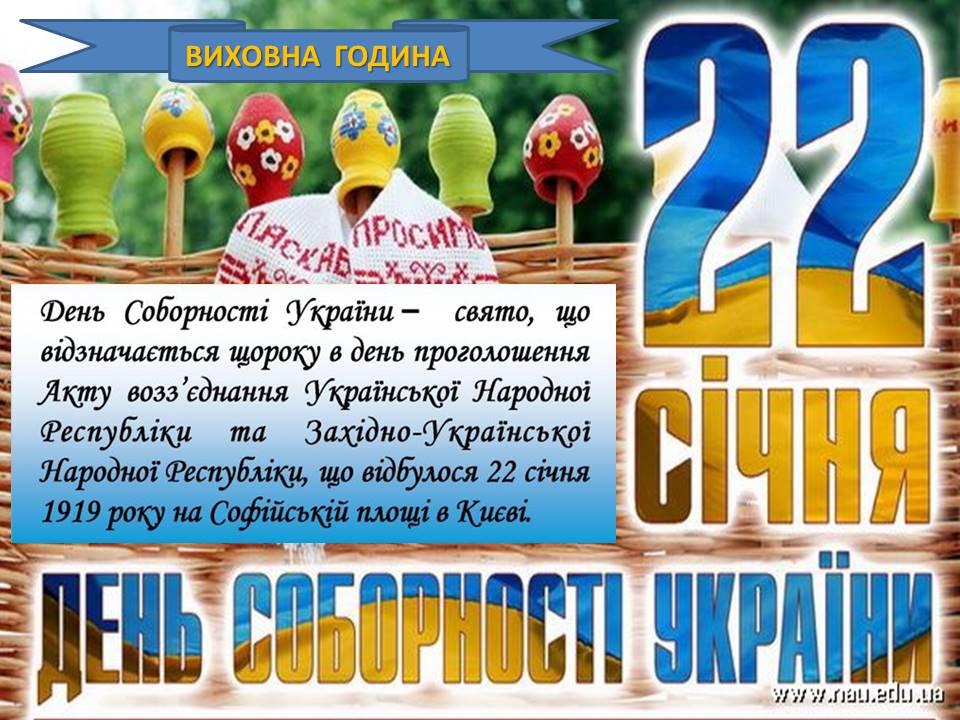 22 СІЧНЯ День соборності
