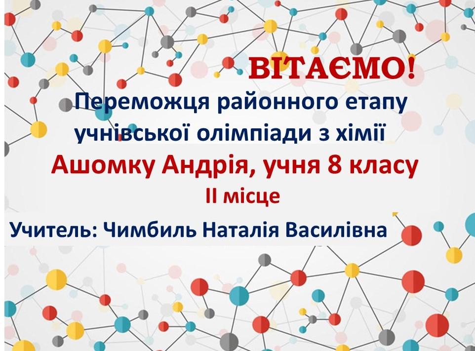 Ашомка_хімія